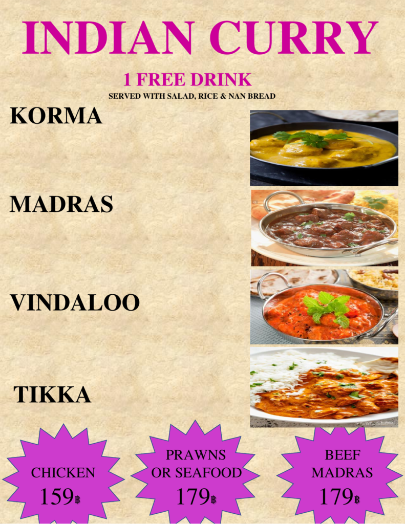 Best Curries in Pattaya!